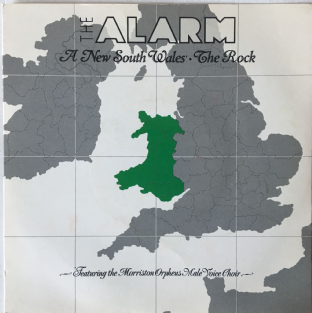 "Alarm ‎(The) - A New South Wales/The Rock (7"") (VG-/VG-)"
